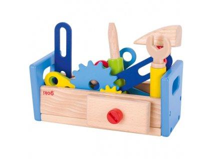 Dřevěný ponk pro děti, 40 dílů
