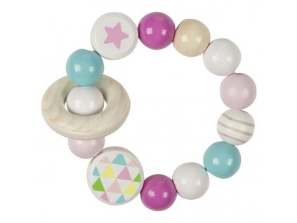 Hvězdička růžová - hračka do ruky