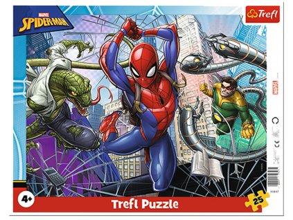 Deskové puzzle Spiderman 25 dílků