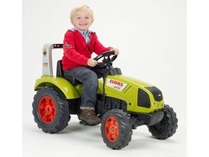 Šlapací traktor zelený 1040 Claas Arion 430