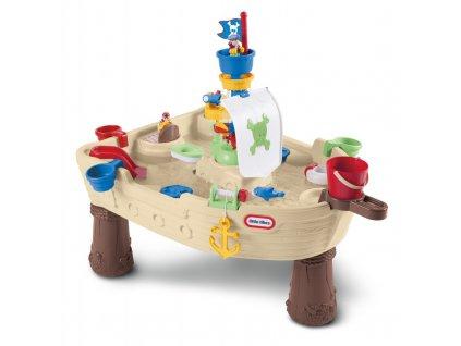 Little Tikes Vodní stůl Pirátská loď 2