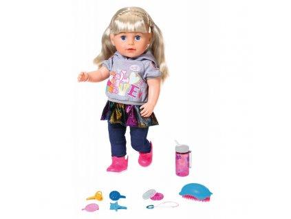BABY BORN Sestřička Soft Touch blondýnka 43 cm 6