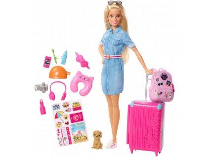 Barbie Dreamhouse Adventures Cestovatelka s pejskem 6