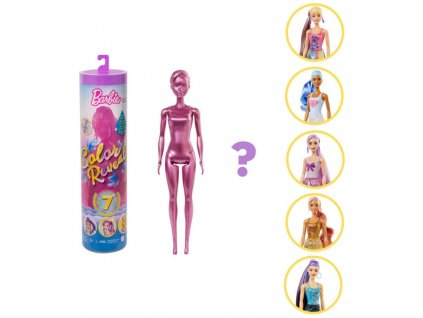 Barbie Color reveal Barbie třpytivá 5