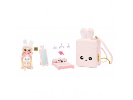 Na! Na! Na! Surprise batoh 3v1 Růžový králíček 10