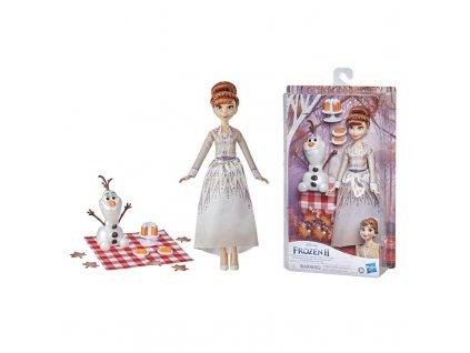 Hasbro Disney Ledové království 2 Anna a Olaf podzimní piknik 7