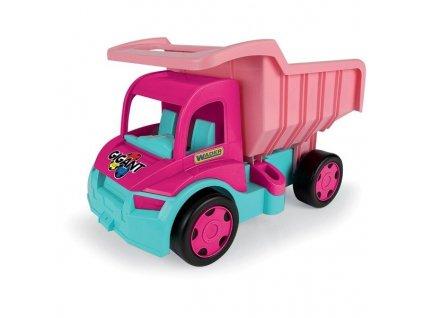 Wader 65006 Gigant Truck sklápěč růžový 1