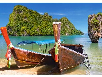 Puzzle KHAO PHING KAN, THAILAND 500 dílků 1