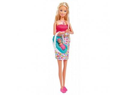 Simba Steffi LOVE těhotná panenka Steffi s doplňky 5733480 11