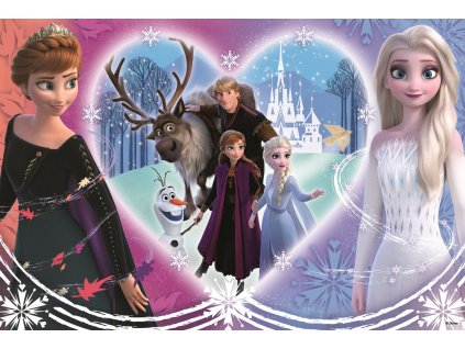 Puzzle Ledové království IIFrozen II Šťastné chvíle