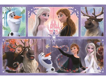 TREFL Puzzle Ledové království Svět plný magie MAXI 24 dílků 1