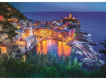 TREFL Puzzle Vernazza za soumraku, Itálie 2000 dílků 1