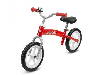 Dětské kolo odrážedlo BRASS red