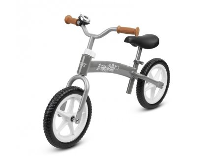 Dětské kolo odrážedlo BRASS grey