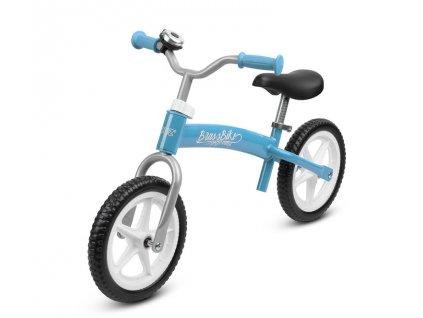 Dětské kolo odrážedlo BRASS blue