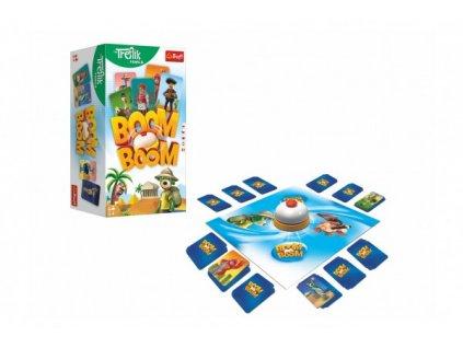 Boom Boom Rodina Trefliků společenská hra