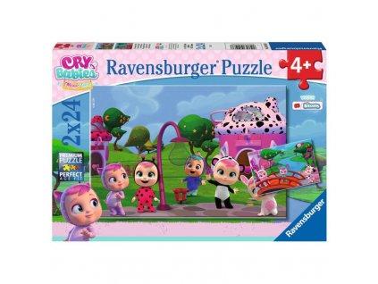RAVENSBURGER Puzzle Cry Babies Magic Tears 2x24 dílků 2