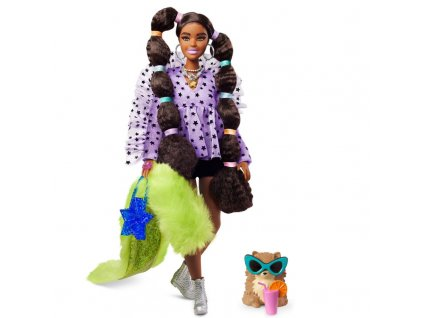 Barbie Extra se zeleným Boa 3