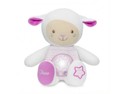 Chicco - Hudební projektor ovečka růžová