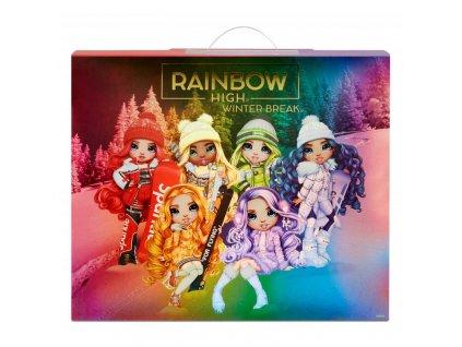 Rainbow High Panenka Violet Willow Winter Break 6