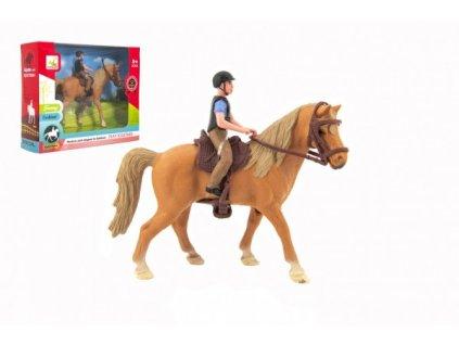 Kůň + žokej