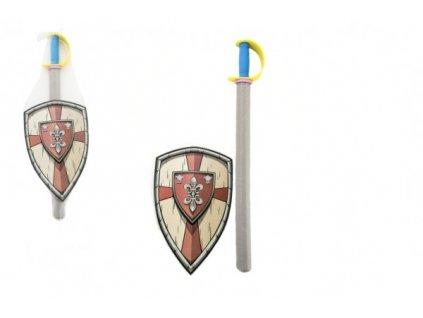 Pěnový meč se štítem