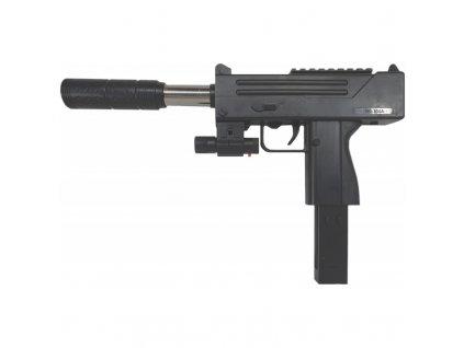 Pistole na kuličky s laserem