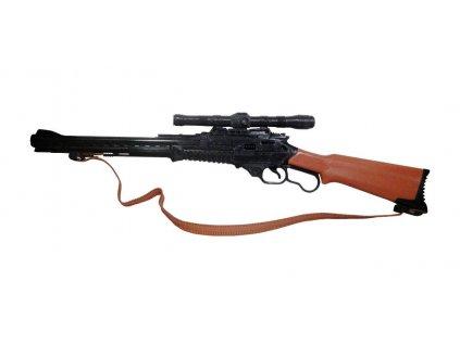 Pistole Winchester s mneumatickým akustickým mechanizmem