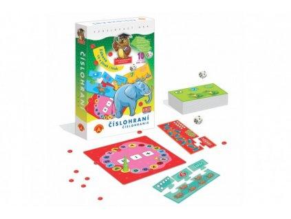 Číslohraní vzdělávací naučná hra