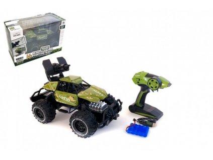 Auto RC buggy vojenské na baterie