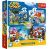 Puzzle Super Wings Úžasný tým 4v1 (12,15,20,24 dílků)