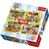 Puzzle Toy story 4v1