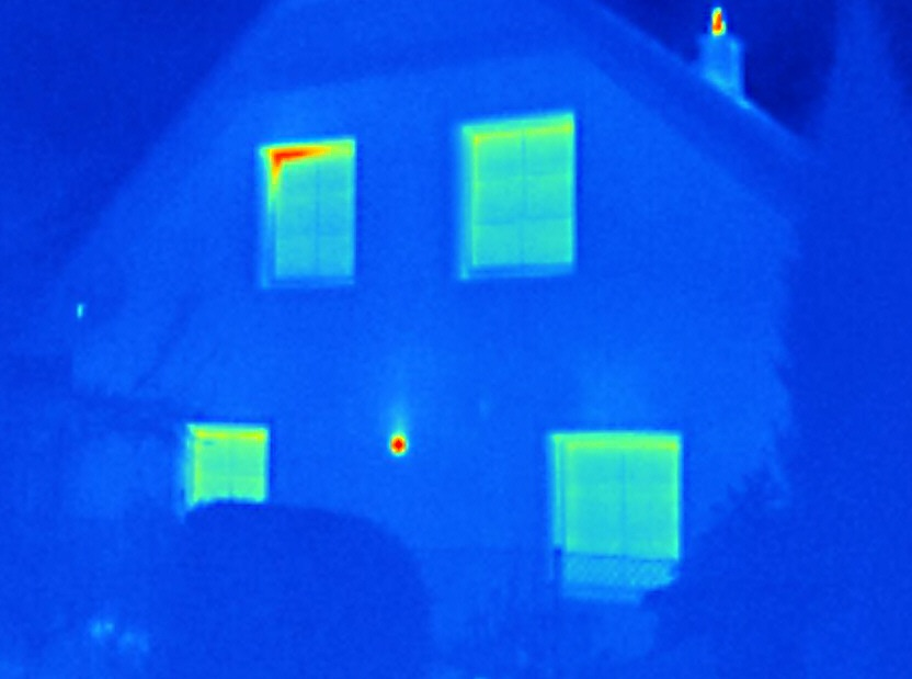 Termovizní diagnostika rodinného domu - termovizní měření šumperk - termocorp.cz, termovizní měření na Šumpersku, termovize Šumperk, termovize budov, tepelný únik budovy