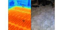 Vyhledání poruch v podlahovém topení, kotvení