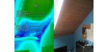Chybějící izolace - kuna v podkroví
