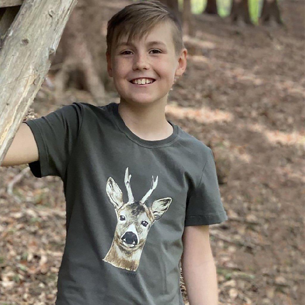 Dětské tričko srnec