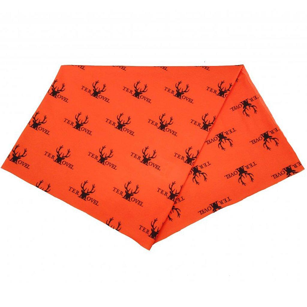 Multifunkční šál oranžový