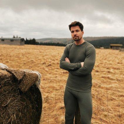 Pánské tričko WOOL DLR M