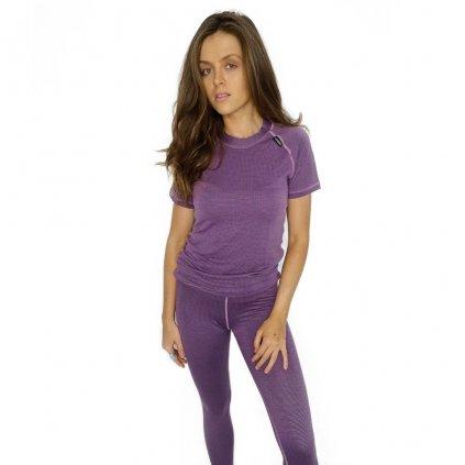 Dámské tričko MODAL KRR W fialové