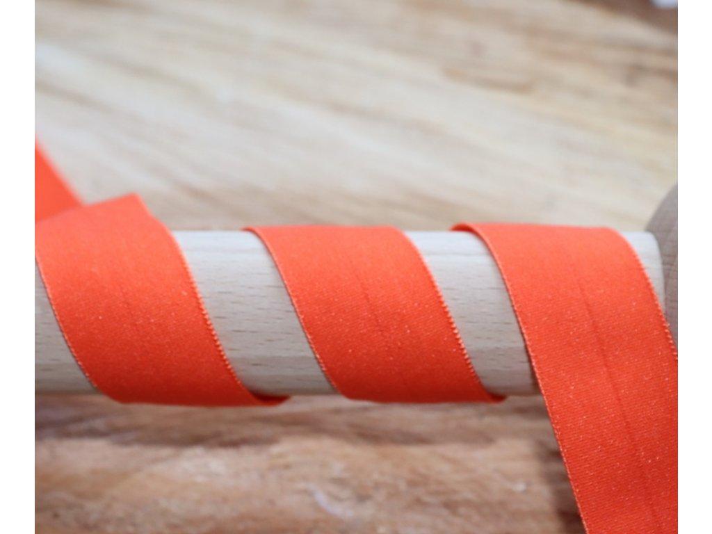Lemovací gumička oranžová