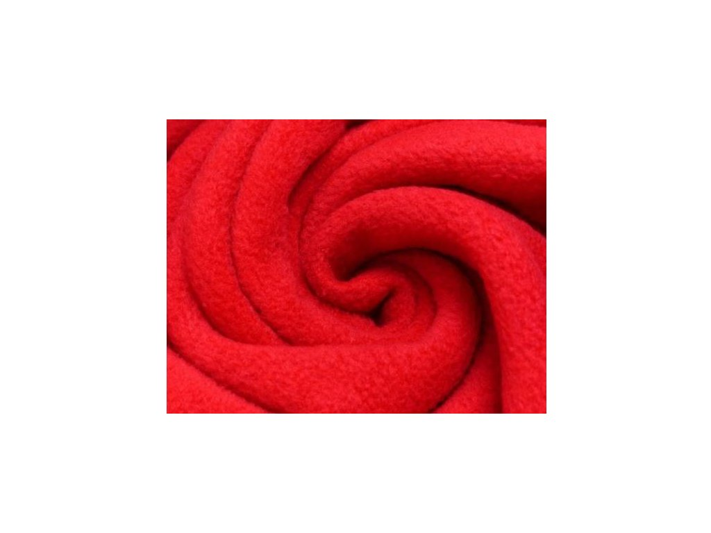 Fleece - Červený