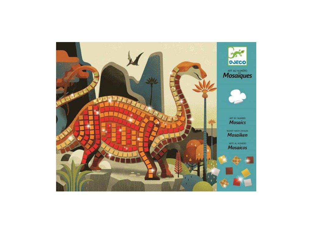 Djeco - Mozaika Dinosauři