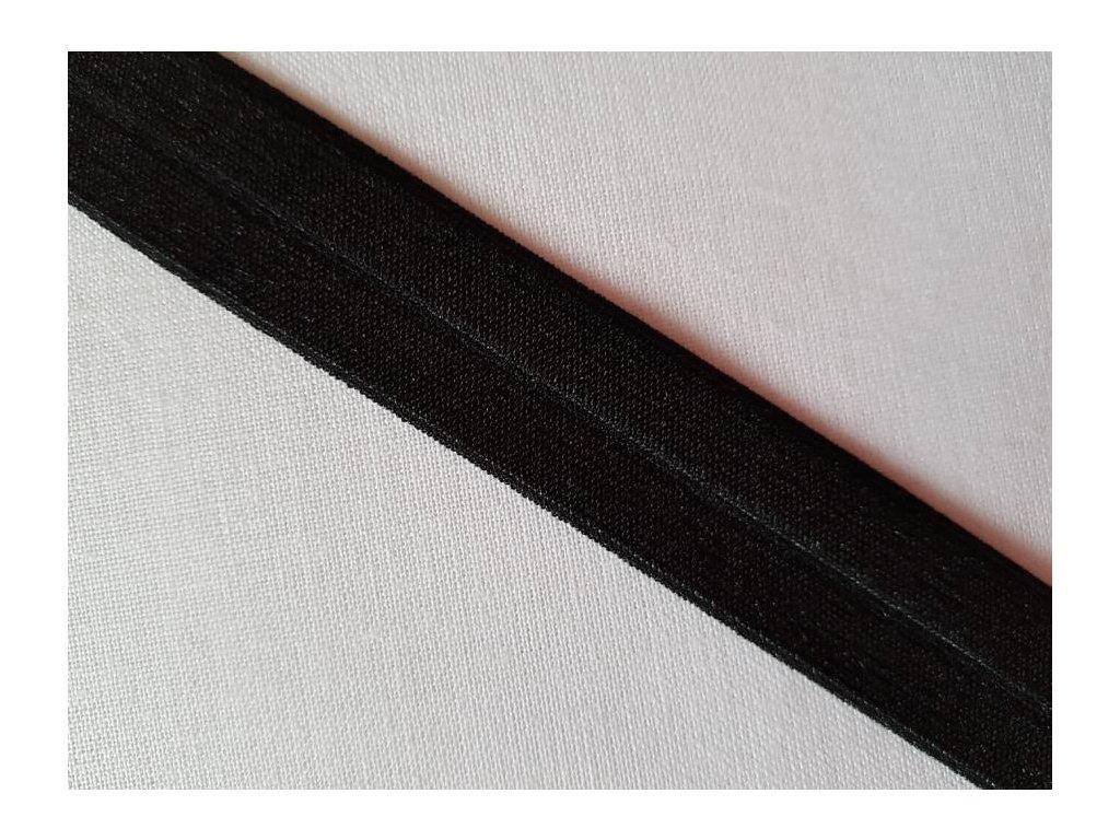 Lemovací gumička černá