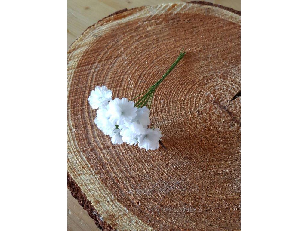 Květinky bílé