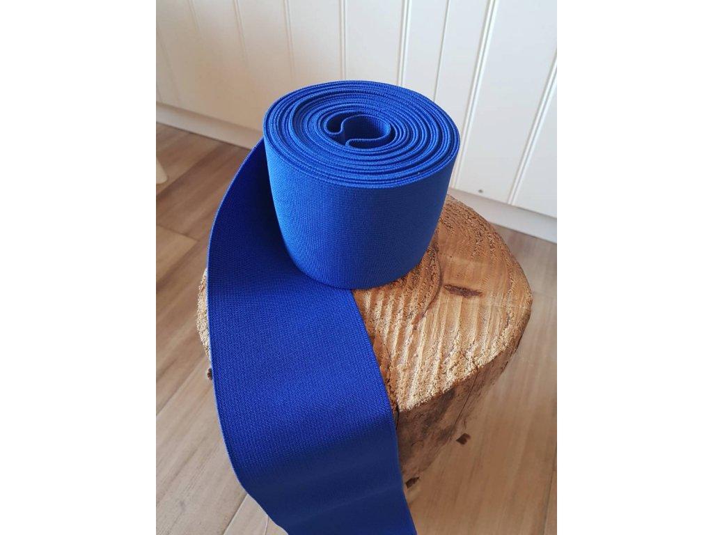 Guma plochá 8 cm -  modrá