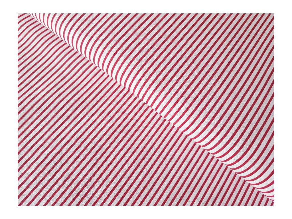 Červené -  proužky