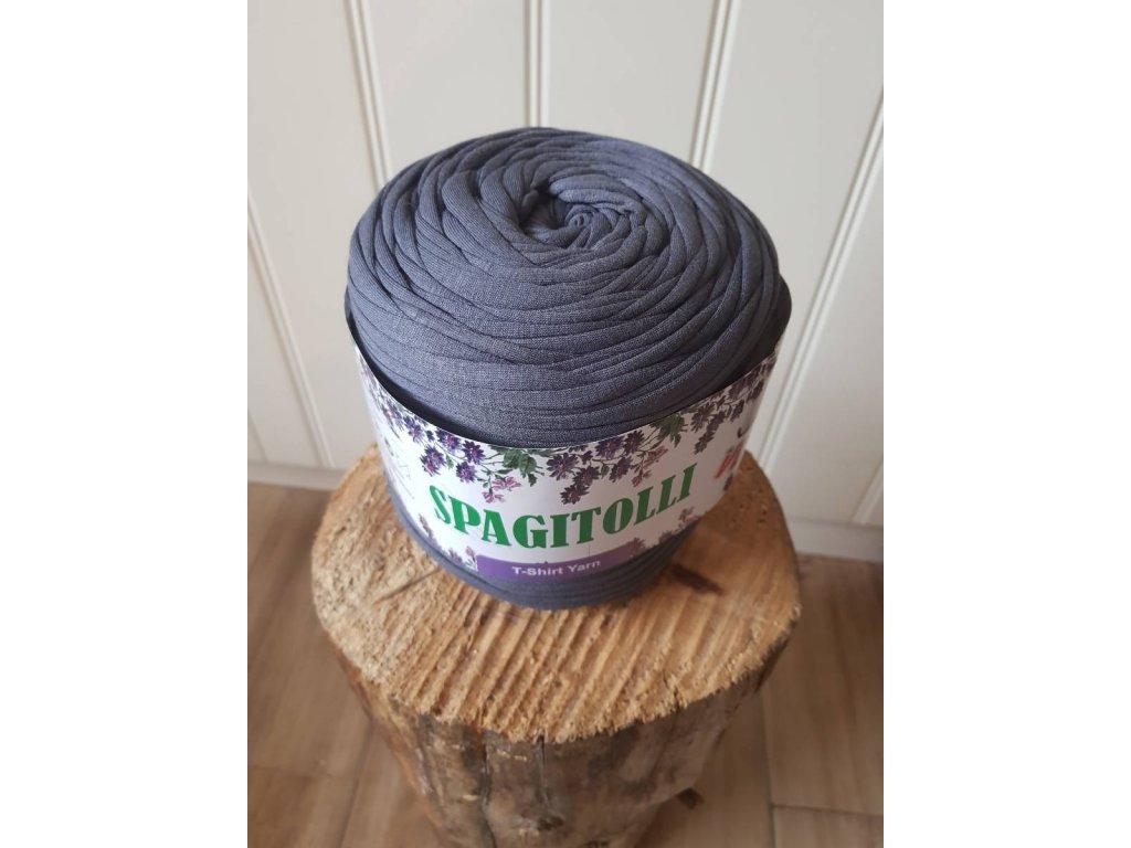 Špagi - tmavě šedá