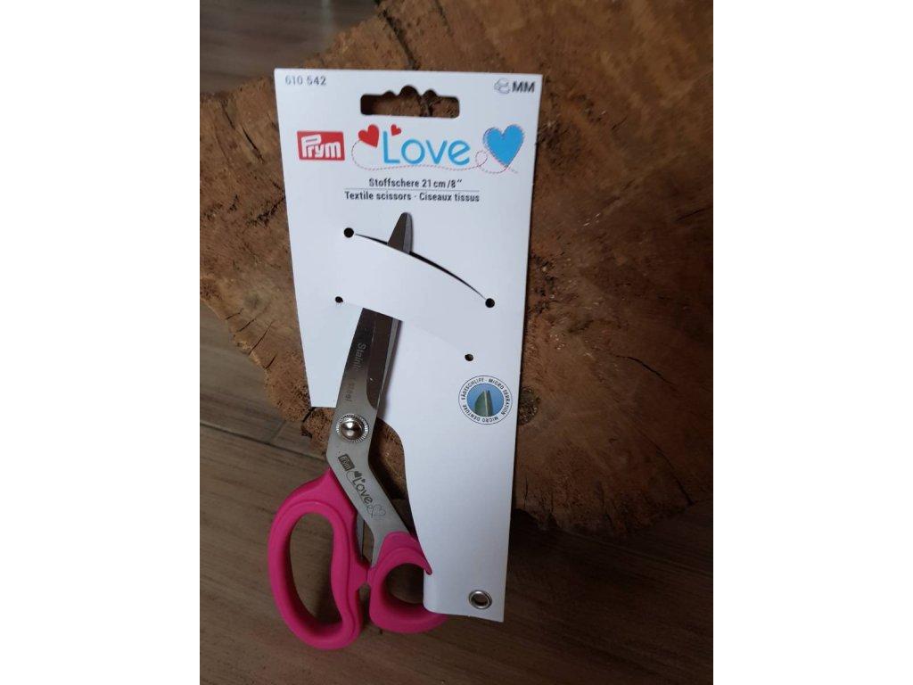 PRYM LOVE - nůžky krejčovské 21 cm MIKROZUB