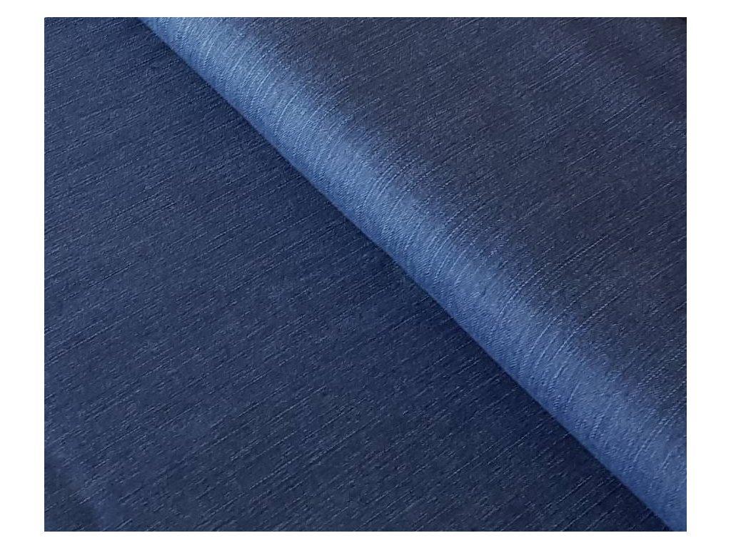 Riflovina melírovaná modrá