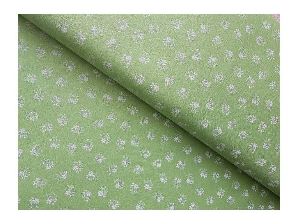 Zelená limetka - kvitečka
